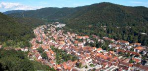 Blick auf Bad Lauterberg vom Hausberg aus
