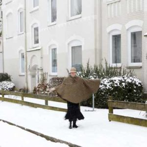 Karla im Schnee