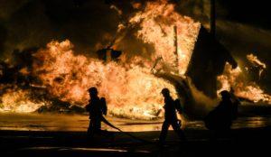 Lagerfeuer löschen