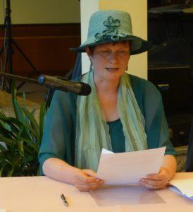 """Karla Letterman liest aus ihrem Roman """"Die Hexenpapiere"""""""
