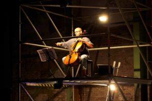 Daniel Sorour am Cello