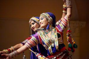 Gypsy-Volkstanz aus Rajasthan