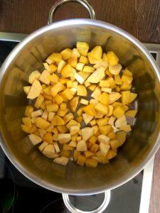 Kartoffeln und Pastinaken