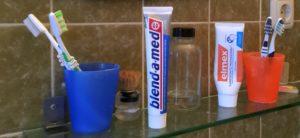 Zahnpastatuben, die nicht knautschen