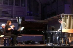 Musiker beim Nachtkonzert in Lübeck