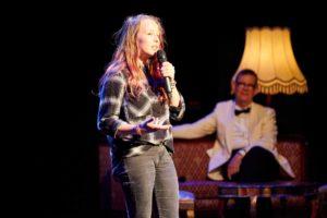 Anastasia beim Poetry Slam, eine der Unbewerteten