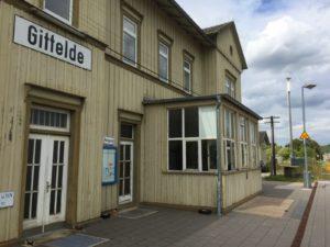 Bahnhof Gittelde im Südharz