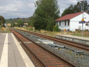 Alte Technik am Bahnhof Gittelde