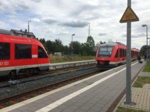 Züge nach Braunschweig und Herzberg
