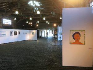 Blick in die Ausstellung der Lübecker Künstler