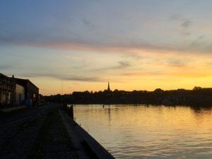 Blick auf St. Lorenz Nord