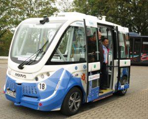 Der autonome Kleinbus TaBuLa