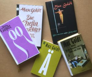 Schreiben ist Goldt - Max Goldt