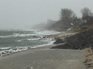 Aufgewühltes Meer bei Dahme