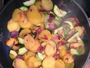 Vegane Bratkartoffeln für die Challenge