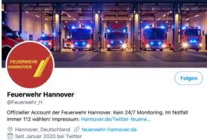 Twitter-Gewitter aus Hannover