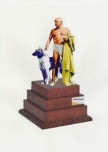 Picasso mit Windhund