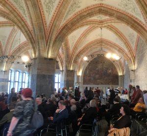 Lesung im Aachener Krönungssaal